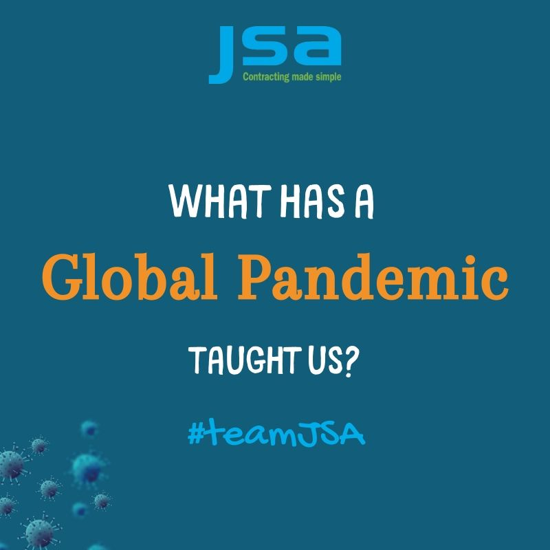 What has a global pandemic taught us